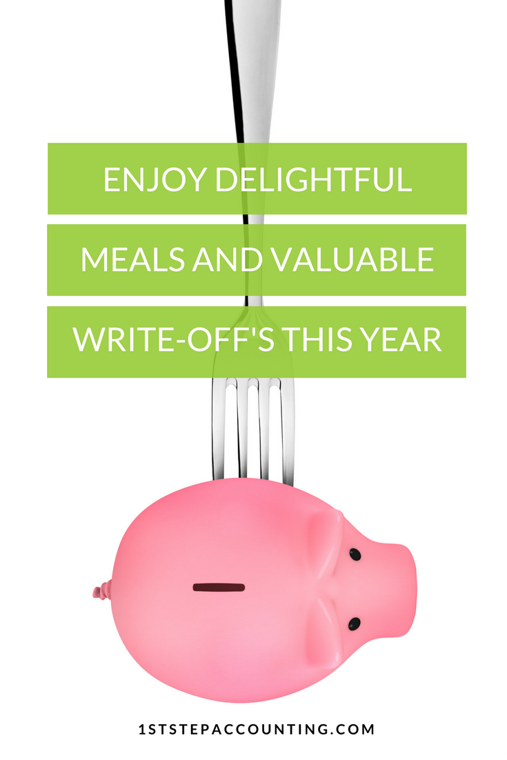 Enjoy Delightful Meals and Valuable Write-offs This Year