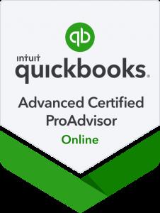 QuickBooks Online Advanced Certification Badge