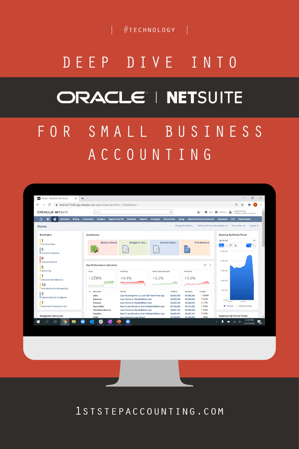 Deep Dive into Oracle NetSuite for small business accounting